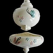 Hull Pottery Butterfly Lavabo