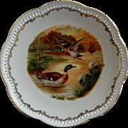 Schumann Arzberg Germany Cabinet Plates - Duck Theme