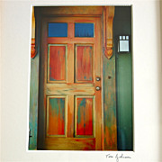 """Alice's Door"" Framed Photograph, Tom Johnson, Cape Cod"
