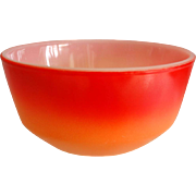 "Colorful Fire King 6"" Mixing Bowl, Ca. 1965"