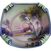 Fabulous Noritake Hand Painted Bowl, Ca. 1930