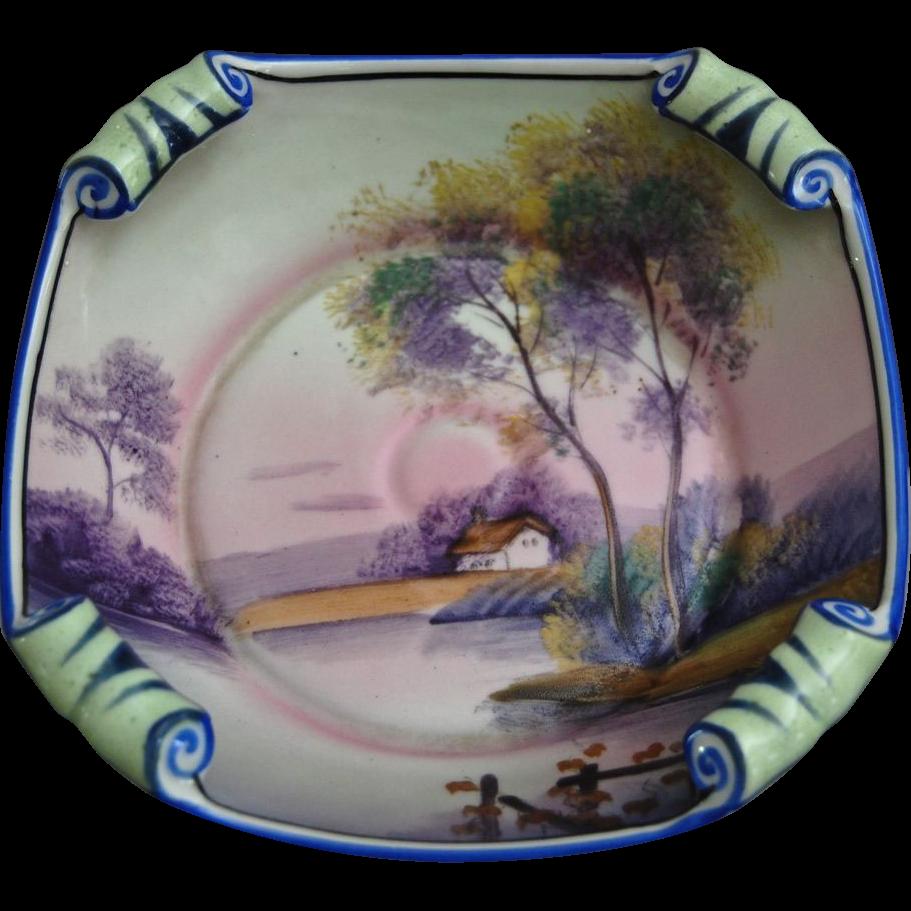 Fabulous Noritake Hand Painted Bowl, Ca. 1930
