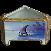 """Nippon Ferner w/Original Liner, """"Cleopatra's Barge"""""""