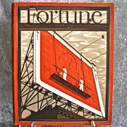 SOLD Fortune Magazine, May 1937