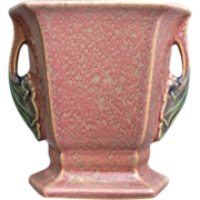 "Roseville Pottery Tuscany Pillow Vase #70-5"", Pink, Circa 1927"