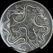 "Rare Barolac Inwald 14"" Dragon Bowl"