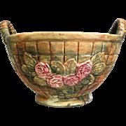 "Weller Pottery Large ""Flemish"" Tub Planter, Circa 1920"