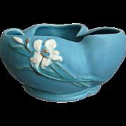 """Weller Pottery """"Bouquet"""" Bowl #B-8, Circa 1937"""