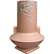 "Roseville Pottery Dawn Vase #829-8"", Pink, Circa 1937"