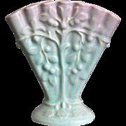 "Weller Pottery 5"" Lavonia Fan Vase, Ca. 1925"