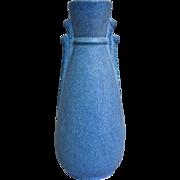 Niloak Pottery Art Deco Vase w/Label, Circa 1938