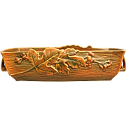 "Roseville Pottery Bushberry Bowl #416-12"", Orange, Ca. 1941"