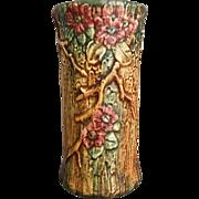 "Weller Pottery 10"" Woodcraft Vase, Circa 1925"