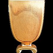 """Cowan Pottery Pillow Vase #797, """"October"""" Glaze, Circa 1928"""