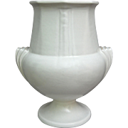 "Roseville Pottery ""Ivory"" Vase #109-8"", Russco Shape, Circa 1934"
