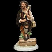 """Fassold & Stauch, Bock Wallendorf """"Woodsman"""" Figurine"""