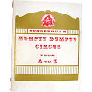 "Vintage Book ""Schoenhut's Humpty Dumpty Circus from A-Z"""