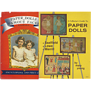 2 Vintage Books on Paper Dolls