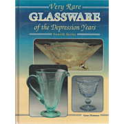 """Vintage Book """" Very Rare Glassware of the Depression Years"""""""