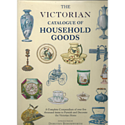 """Vintage Book """" The Victorian Catalogue of Household Goods"""""""