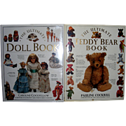 "2 Vintage Books "" The Ultimate Doll Book""  &  ""The Ultimate Teddy Bear Book"""