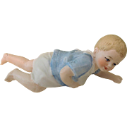 REDUCED Sweetest 4 1/4 Inch Crawling Baby Figurine