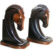 SOLD Dodge Horse Bookends