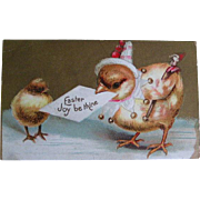 Postcard lot of Eleven; Easter early 1900's (3)
