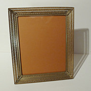 SOLD 1940s Reticulated 8 X 10 Picture Frame Horizontal/Vertical