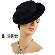 Vintage 1930s Straw Hat!