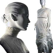Rare Edwardian Dress Ensemble: Gibson Girl Ensemble with Provenance in Near Mint Condition