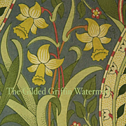 SOLD RARE William Morris and John Henry Dearle Textile Sample, Authentic & Rare with Provenanc