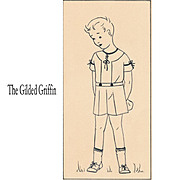 Authentic 1920s Original Pen & Ink Drawing, NOT PRINT, Children's Fashion Illustration