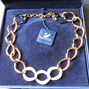 Gorgeous Swarovski Donatella Necklace In Original Box With Tags
