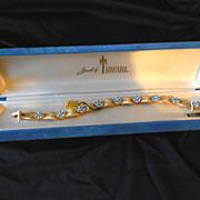 Pristine Trifari Ribbon Bracelet In Original Box With Tags