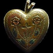 Vintage 14K Gold Filled Locket - Signed PPC