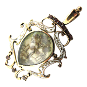 Outstanding Georgian Period FrenchLove Token Pendant Circa 1690-1710