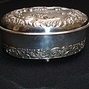 Box, Silverplated, Victorian