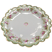 Plate, Limoges, haviland