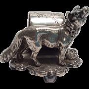 SOLD figural Napkin Ring