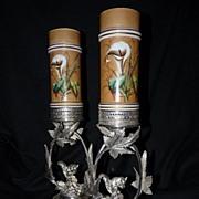 SOLD Vases, Victorian