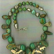 Turquoise Beads Fetish Beads : Fertile Turtle