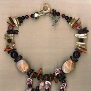 SALE Spiral Shell beads Fossil Coral Amethyst Spiny Oyster : Heart to Heart