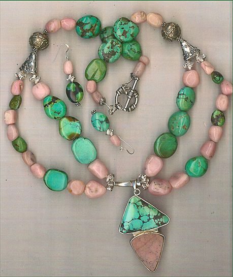 Turquoise Pink Drusy (Druzy) Pink Opal beads : The Pink Flamingo
