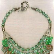 SALE Peruvian Opal Beads Chrysophase : Peruvian Opal Beauty