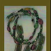 SALE Ruby Zoisite beads Red Garnet : Rich & Ruby