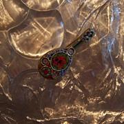 Micro Mini Mosaic Mandolin Italian Book Piece