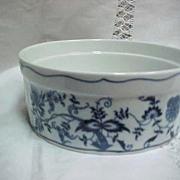 SALE Blue Danube China Souffle Dish