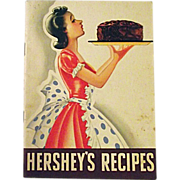 Vintage 1940 Hershey's Recipes Booklet Hershey's Cocoa