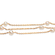 REDUCED Embraced by a Freshwater Pearl Necklace